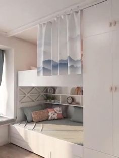 Small Room Design Bedroom, Small House Interior Design, Bedroom Decor For Teen Girls, Bedroom Closet Design, Small Bedroom Designs, Home Room Design, Room Ideas Bedroom, Bedroom Ideas For Small Rooms For Adults, Small Room Interior