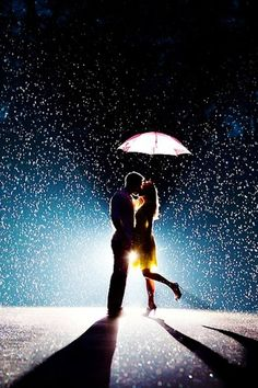 I love rain, but kissing in it? LOVE IT EVEN MORE!!!