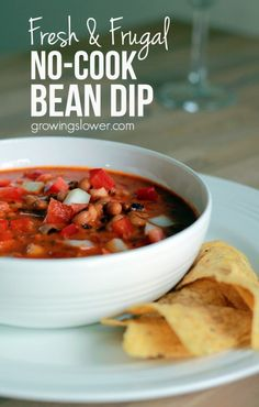 Ready to try something fresh, frugal, healthy, and new? Whip up this easy Gandules Dip Recipe, a tangy Puerto Rican bean dip that will wow your guests.