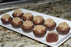 Shut up!  My favorite cake, in my favorite form - cake balls  German Chocolate Cake Balls w/ Coconut Icing inside
