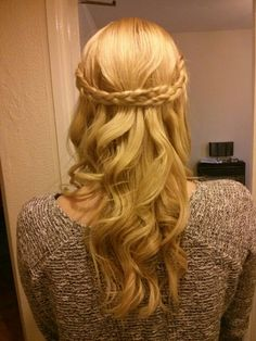 Double plait entwined.