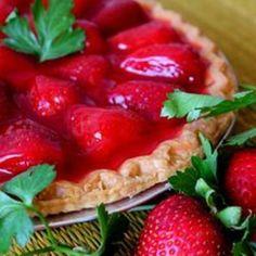 Two Tier Strawberry Pie