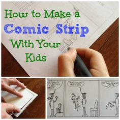 Comic strips for kidshere's an easy way to bring out the artist and storyteller in your kids, in seven easy steps.