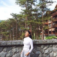 Nominate as 100 Most Beautiful Faces 2016 . Baguio Outfit, Nadine Lustre Ootd, Lady Luster, Travel Pictures Poses, City Outfits, Fashion Outfits, Baguio City, Hey Gorgeous, Jadine