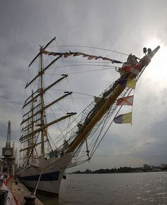 "The Tall Ship ""MIR"" - Tall Ships Races, Antwerpen, Belgium"