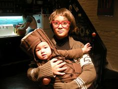 "Twin Peaks Halloween costume, the Log Lady. I will do this someday and dress my baby as a log and say ""my log has something to tell you"" and it will be so amazing Omg"