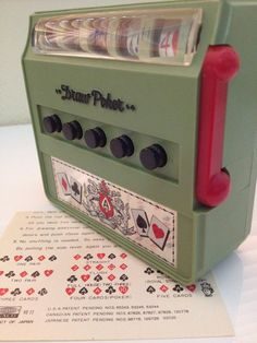Vintage Waco Poker Game Vintage Game Poker Draw Poker by CHICaDees