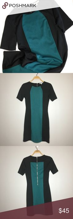 "Stitch Fix 41 Hawthorne Beckie Ponte Colorblock New with tags Stitch Fix 41 Hawthorne Beckie Ponte Colorblock Dress in size XS. Armpit to armpit: 16.5"", length: 32"". 95% polyester, 5% spandex 41 Hawthorne Dresses"