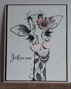 Giraffe Pictures, Giraffe Art, Lavinia Stamps, Card Drawing, Dragon Tattoo Designs, Ink Stamps, Birthday Cards For Men, Animal Cards, Ink Art