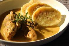 Mustard sauce - Hořčicová omáčka - V kuchyni vždy otevřeno Poultry, Baked Potato, Mustard, Pork, Menu, Potatoes, Chicken, Baking, Ethnic Recipes