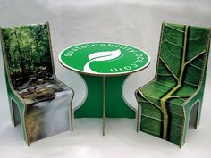 Recycled cardboard temporary furniture - Digital print on the Canon Océ Arizona flatbed system Arizona, Paper Board, Grand Format, Art Graphique, Digital Prints, Canon, Recycling, Furniture, Design
