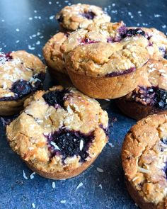 BERRY COCONUT PROTEIN MUFFINS (VEGAN) – No Excuses Nutrition