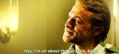 And just when you think he's TOO rough around the edges, man makes you feel like a goddamn Disney princess. | Community Post: 31 Reasons Jax Teller Is Your Perfect Man