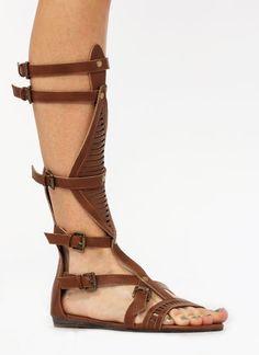 christian louboutin rose du desert gladiator sandals