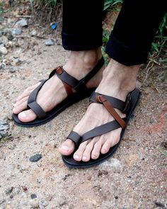Tres Gladiator Sandals by sixthempire on Etsy
