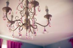 #chandelier, #girls-bedroom  Photography: Danfredo Photography (www.danfredophotography.com) - danfredophotography.com  Read More: http://www.stylemepretty.com/living/2012/07/30/smp-at-home-spotlight/