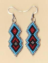beaded earrings - Google Search