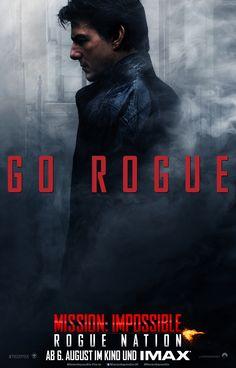 Spezialagent Ethan Hunt (Tom Cruise) ist zurück! Habt ihr schon den neuen Trailer zu MISSION: IMPOSSIBLE - ROGUE NATION gesehen? #MI5 ab dem 6. August im Kino!