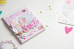 Scattered Confetti Scrap: DIY Notepad [Serendipity]. // #americancrafts #diy #serendipity #dearlizzy #scrapbookwerkstatt
