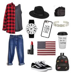"""""""for you"""" by kwinnerr on Polyvore featuring Lee, prAna, Lack of Color, Rosendahl, NARS Cosmetics, Ollie & B, Faribault Woolen Mill Co., H&M, Casetify and Urban Decay"""