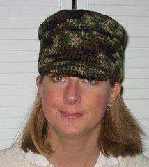 Ravelry: Flat Top Cadet Hat pattern by Lisa Elbertsen