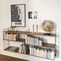 Color Blanco Estanter/ía para Libros 3 estantes Tomado