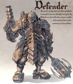 Defender by GoldenDaniel