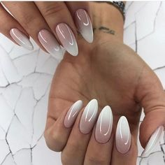 Official – Biting Your Finger Nails Leads To Heart Problems Hair And Nails, My Nails, Nail Manicure, Nail Polish, White Almond Nails, Nagel Blog, Modern Nails, Types Of Nails, Press On Nails