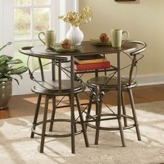 Small space kitchen table ... nice for coffee - Fleur De Lis Bistro Set | Ginny's