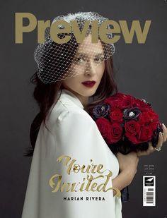December 2014 - January 2015 cover Liz Uy, Prenuptial Photoshoot, Soiree Party, Marian Rivera, Fashion Magazine Cover, Magazine Covers, Lily Chee, Girl Photography, Pretty Face