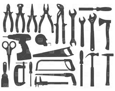 screws and bolts FASTENERs clipart - Google Search