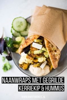 Healthy Meals To Cook, Clean Eating Recipes, Healthy Cooking, Healthy Recipes, Naan, Clean Eating Salate, I Love Food, Good Food, Healthy Diners
