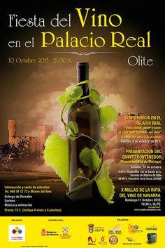Fiesta del Vino en el Palacio Real de Olite #Navarra #enoturismo