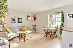 Casa de Reader - un pequeño apartamento sueco - deseo de inspirar - desiretoinspire.net