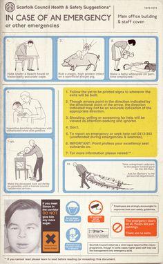 Scarfolk Council: Scarfolk Council Health & Safety (1973-1974)