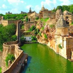Benteng Chittorgarh, India Incredible Travel Destinations
