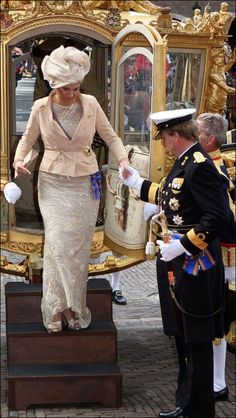 Queen Máxima of the Netherlands on Budget Day