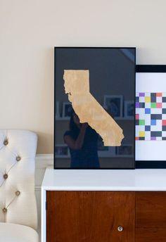 DIY Golden State Poster