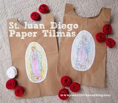 Feast Day Celebrations: Our Lady of Guadalupe and St. Advent Activities, Christmas Activities, Christmas Crafts, Church Activities, Work Activities, Catholic All Year, Catholic Kids, Catholic School, Catholic Saints