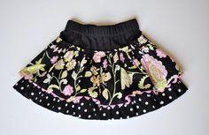 Little girls' skirt tutorial. Fabulous!