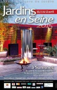 #Salon Jardins en Seine à Suresnes du 10 au 12 avril 2015. Le rendez-vous printanier consacré à l'univers du jardin. http://www.batilogis.fr/agenda/salon-france-2015-1.html