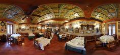 Panorámica salón comedor Restaurante Duque