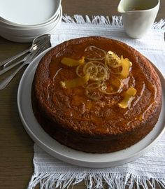 "Lemon & olive oil cake | Karen Martini. Karen's book ""Feasting"" is a favourite in our house. Wonderful dishes to share."