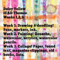 2015 ICAD: Prompts Week 1
