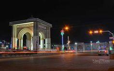 Mazar-i-Sharif City at night, Balkh, Afghanistan Photo Credit: Naimat Rawan