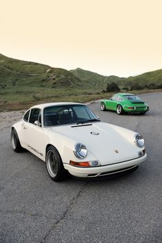 Nature's perfect car: the Singer Porsche 911. Imagine taking a vintage 911, and modernizing its underpinnings completely. Life is grand.
