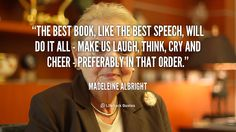 Quote by Madeleine Albright | Lifehack Quotes