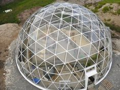 Solar Geodesic Dome-Covered Cob House Rises in the Far Reaches of Norway   Inhabitat - Sustainable Design Innovation, Eco Architecture, Gree...