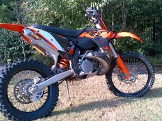 There is a great bike 2009 KTM 300XC-W