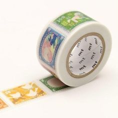 Mt Tape, Mt Masking Tape, Washi Tape Set, Postage Stamp Design, Postage Stamps, Japanese Bird, Cute Stationery, Stationary, Craft Projects